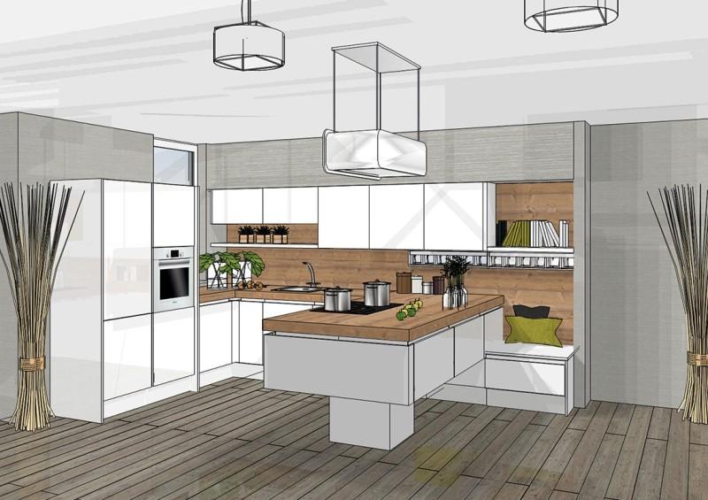 Keuken L Vorm Met Raam : 3d keuken ontwerpen? Gratis bij DAN K?chen