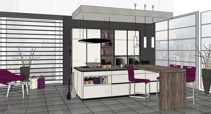 Kleine Keuken Met Bar : gerelateerde artikelen grijze keuken lees meer oostenrijkse keuken