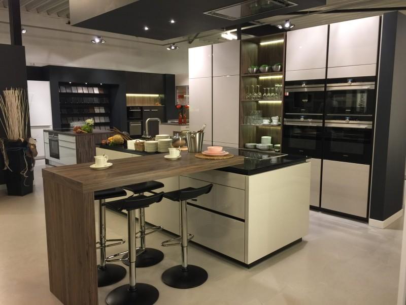 Keuken met bar dan k chen keukens - Kleine keuken met bar ...