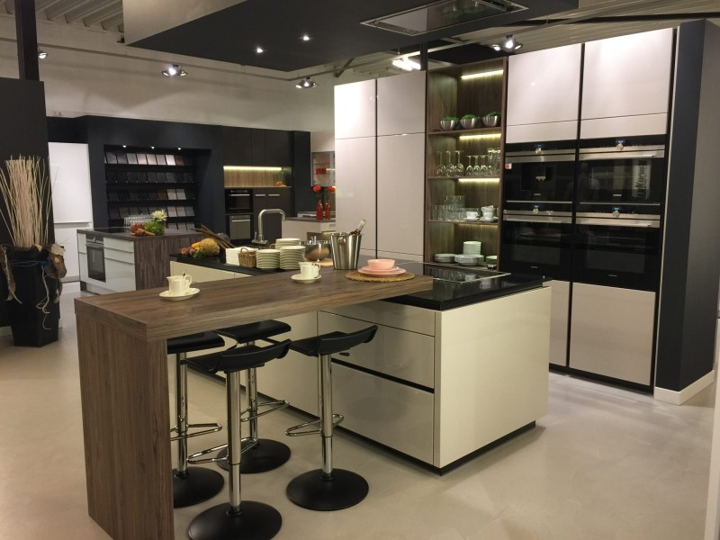 Keuken met bar dan k chen keukens for Kleine amerikaanse keuken met bar