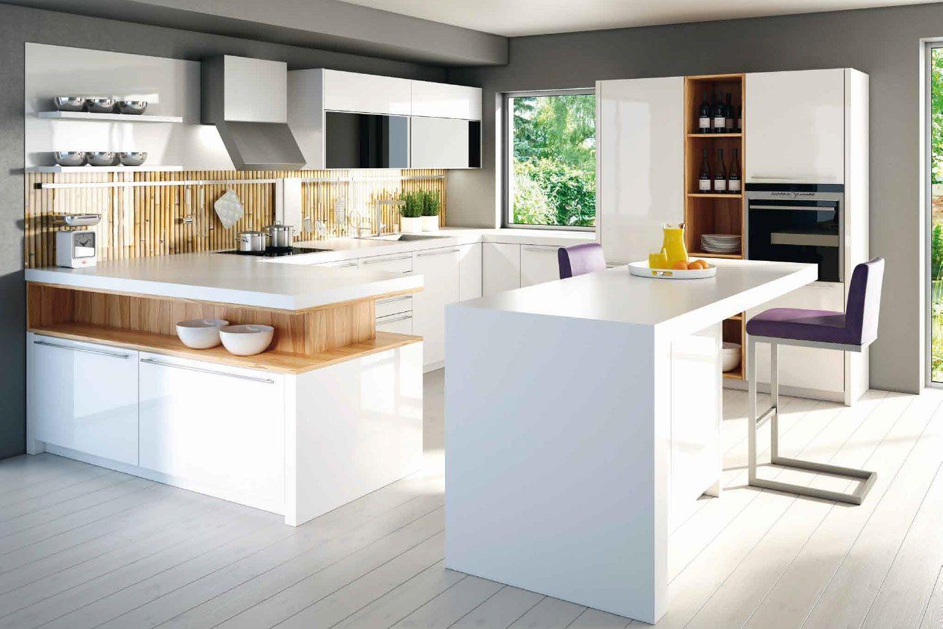 Witte keukens dan k chen keukens - Bar design keuken ...