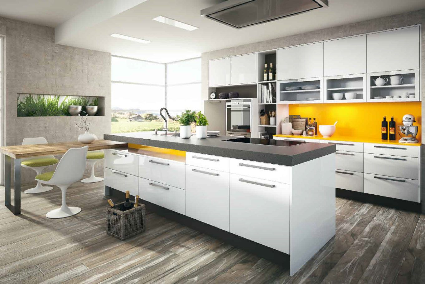 Zwarte keuken   dan küchen