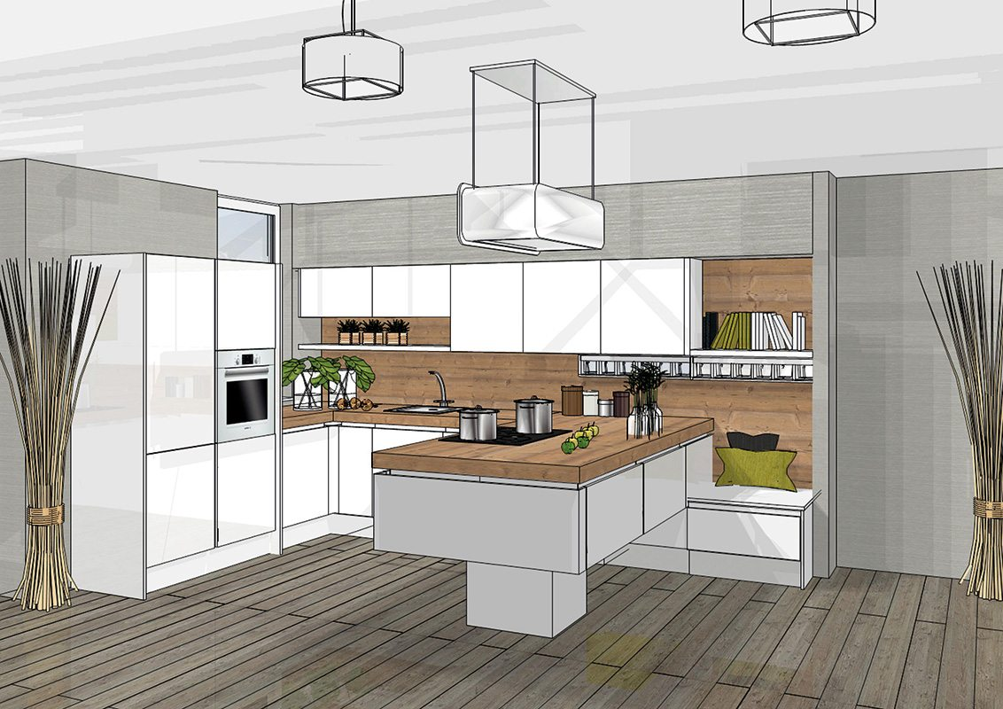 3d keuken ontwerpen gratis bij dan k chen - Idee van interieurontwerp ...